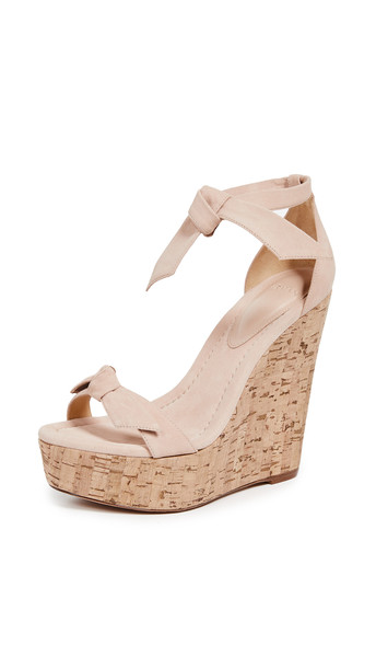 wedges light shoes