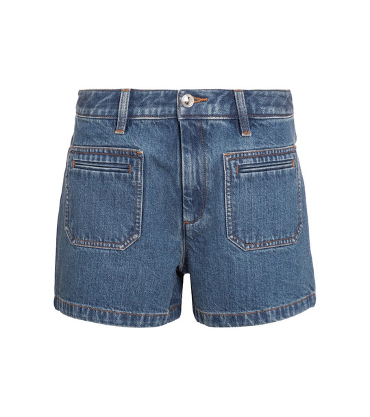 A.P.C. Roma denim shorts in blue