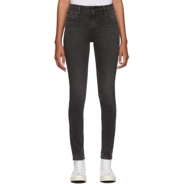 Levis Black 721 High-Rise Skinny Jeans