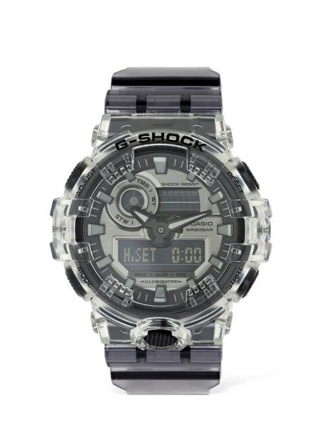G-SHOCK Ga Super Clear Skeleton Digital Watch in transparent