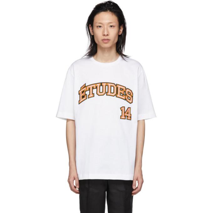 Études Études SSENSE Exclusive White Unity 14 T-Shirt