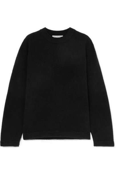 alexanderwang.t - Wool-blend Sweater - Black