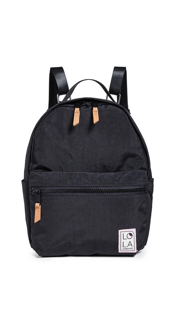 LOLA Starchild Medium Backpack in black