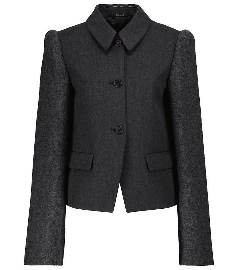 Maison Margiela Wool jacket in grey