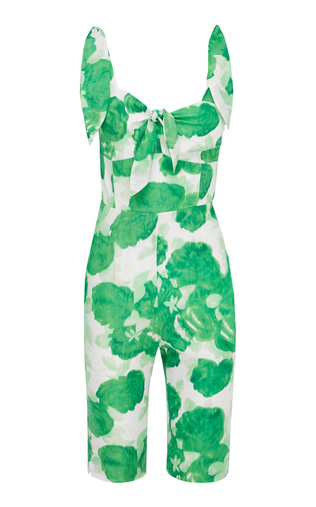 Alice McCall Make My Day Short Jumpsuit in green
