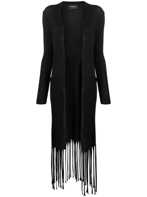 Antonella Rizza Carol fringed cardigan in black