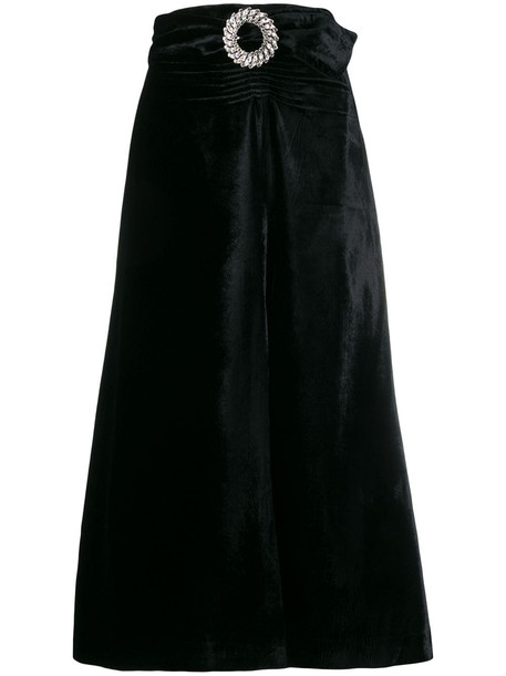 Miu Miu Skirt Velvet in nero
