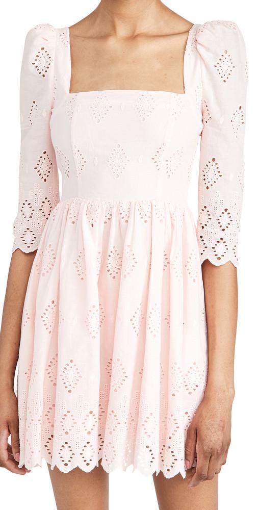 Cara Cara Hart Dress in blush