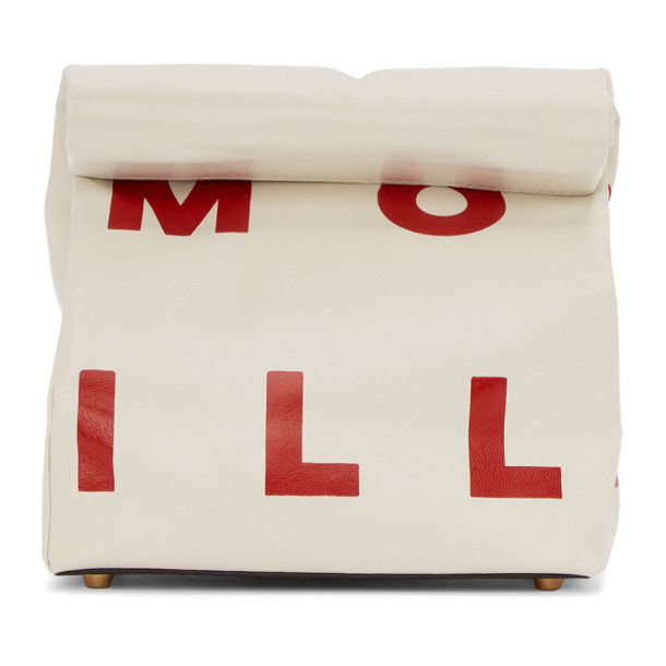 Simon Miller White Small Lunch Bag 20 Clutch
