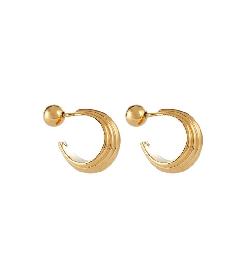 Sophie Buhai Blondeau Large 18kt gold vermeil hoop earrings