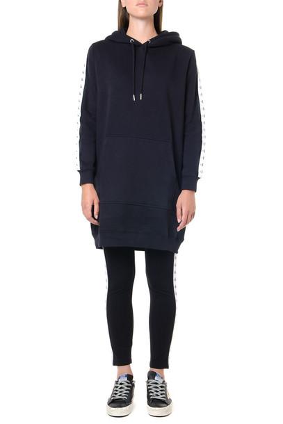 Calvin Klein Jeans Black Cotton Blend Oversize Hoodie