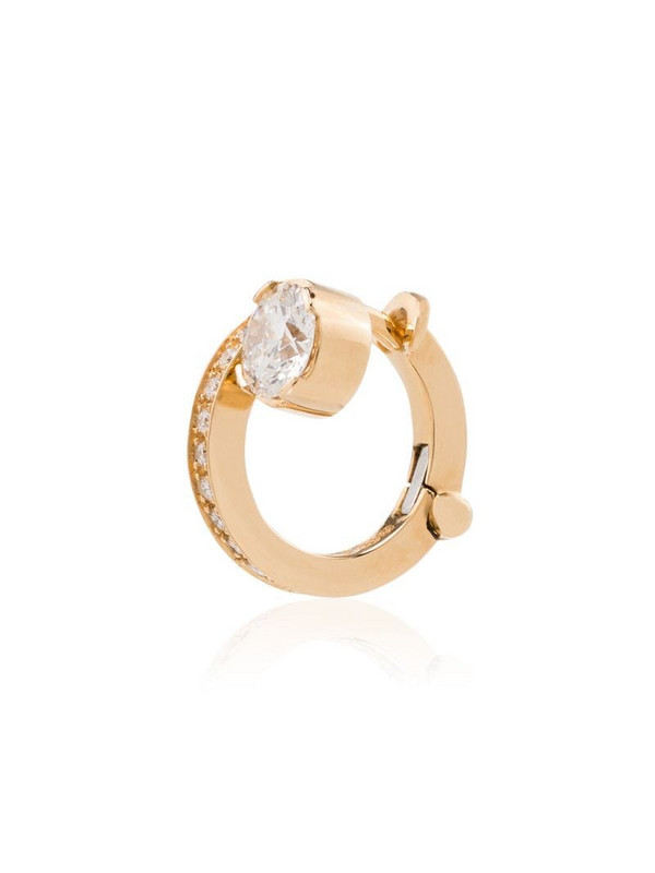 Sophie Bille Brahe 18kt yellow gold Emelie single earring