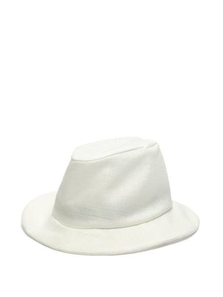 Reinhard Plank Hats - Patel Woven Panama Hat - Womens - White