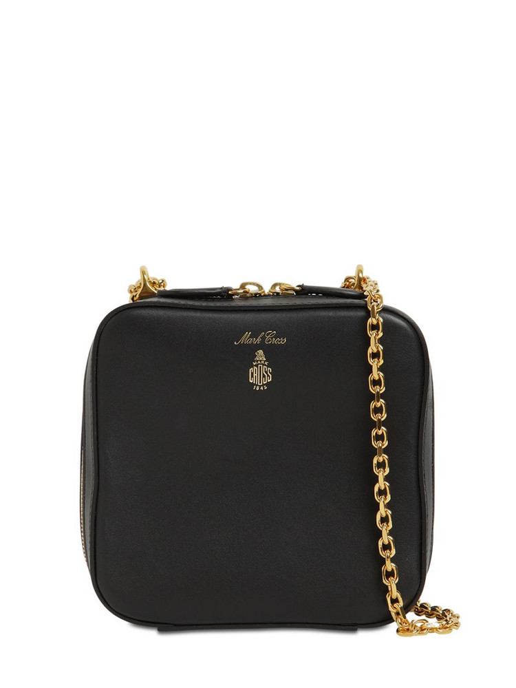 MARK CROSS Rose Smooth Leather Bag in black