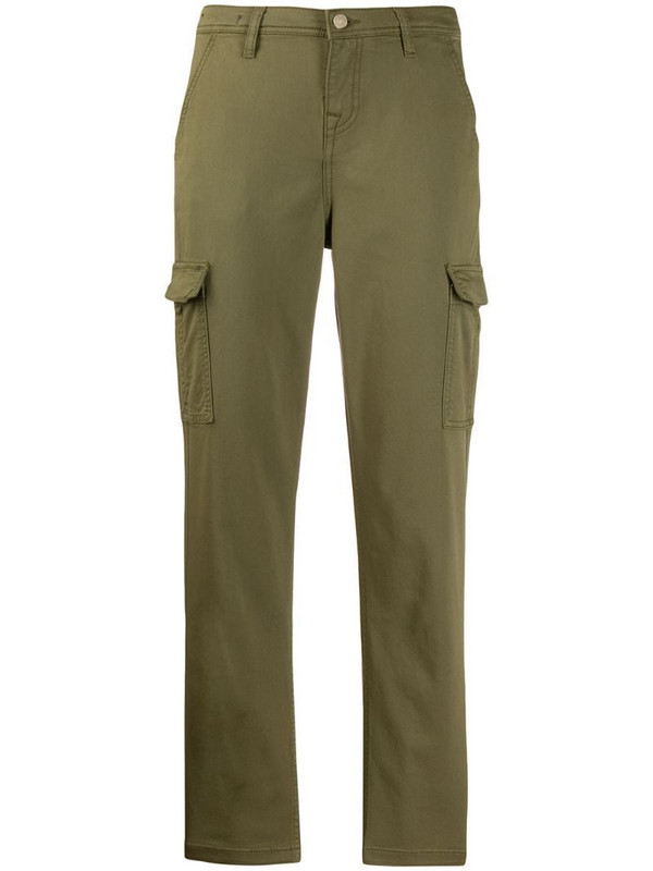 7 For All Mankind tapered leg cargo pants in green