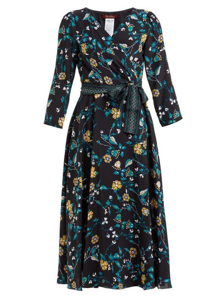 Max Mara Studio - Baobab Dress - Womens - Black Print