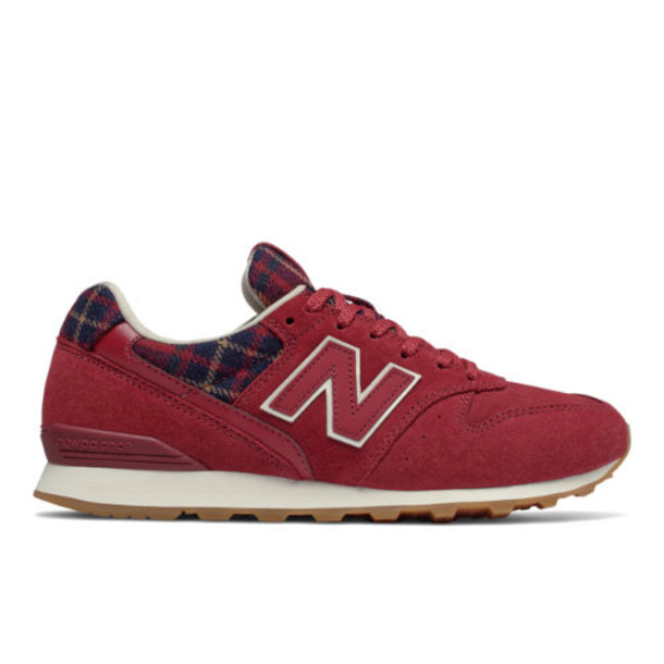 New Balance 996 Women's Running Classics Shoes - Red/Black (WL996CG)