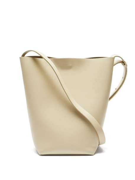 Aesther Ekme - Sac Large Leather Cross-body Bag - Womens - Ivory