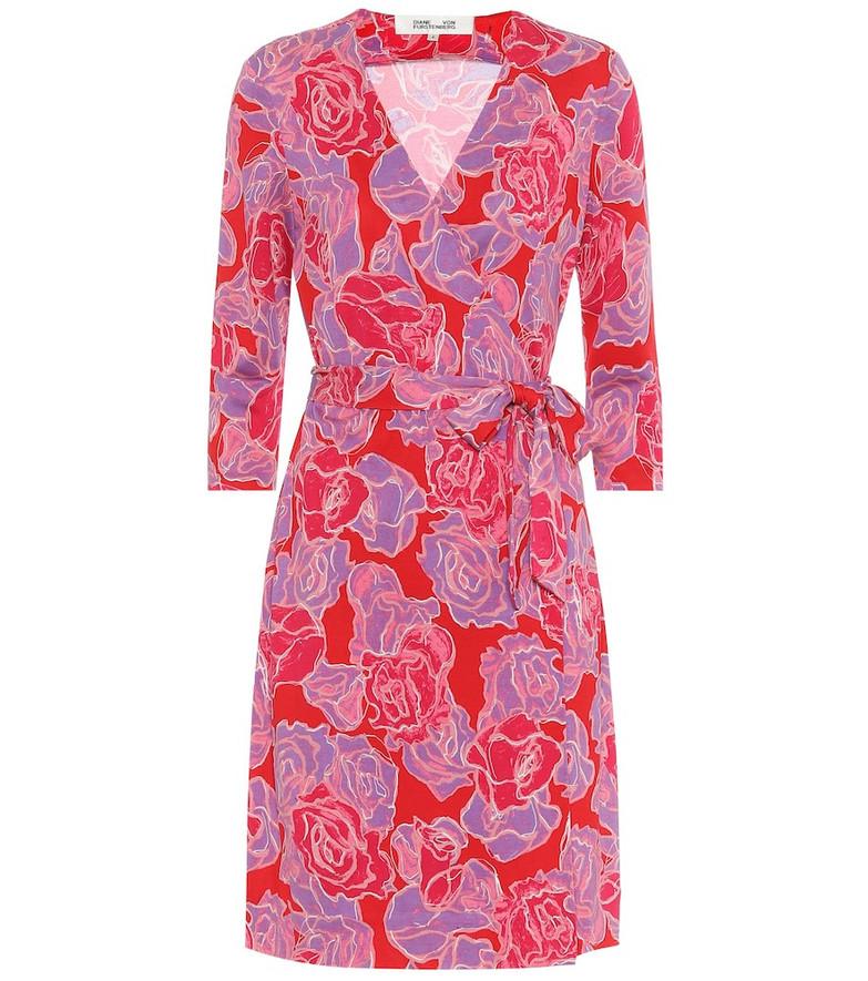Diane von Furstenberg Exclusive to Mytheresa – New Julian silk wrap dress in pink