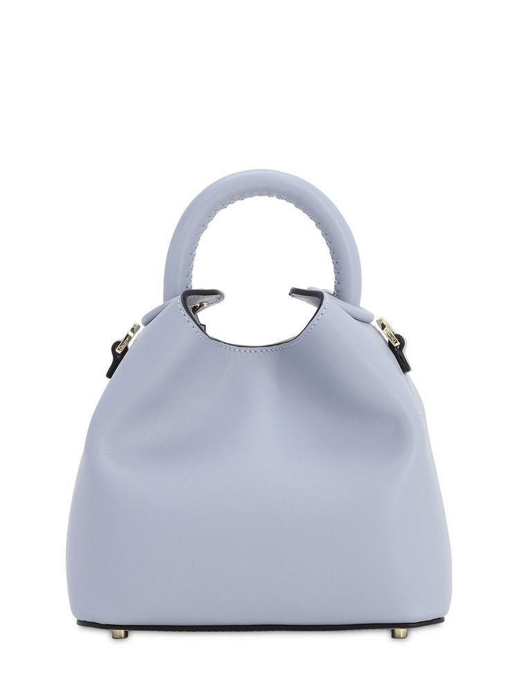 ELLEME Madeleine Smooth Leather Bag in blue