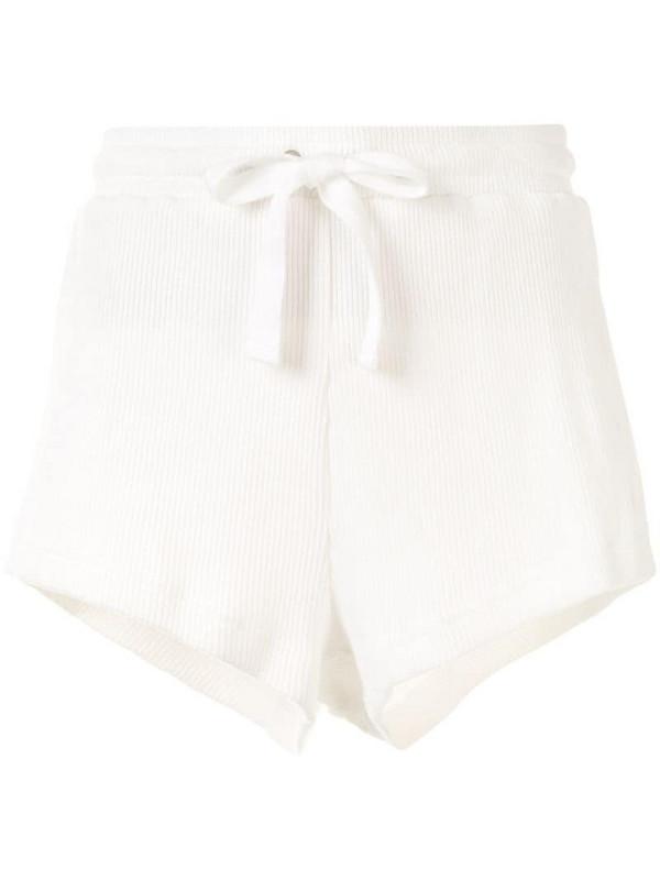 The Upside Ezi plain shorts in white