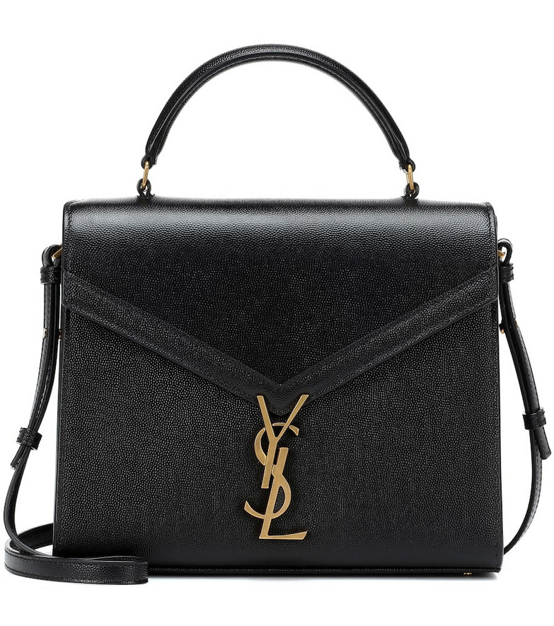 Saint Laurent Cassandra Medium shoulder bag in black