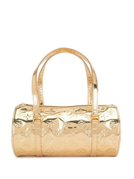 Louis Vuitton 2006 pre-owned metallic Papillon tote bag in gold