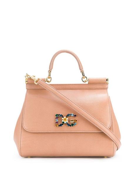 Dolce & Gabbana Sicily shoulder bag in neutrals