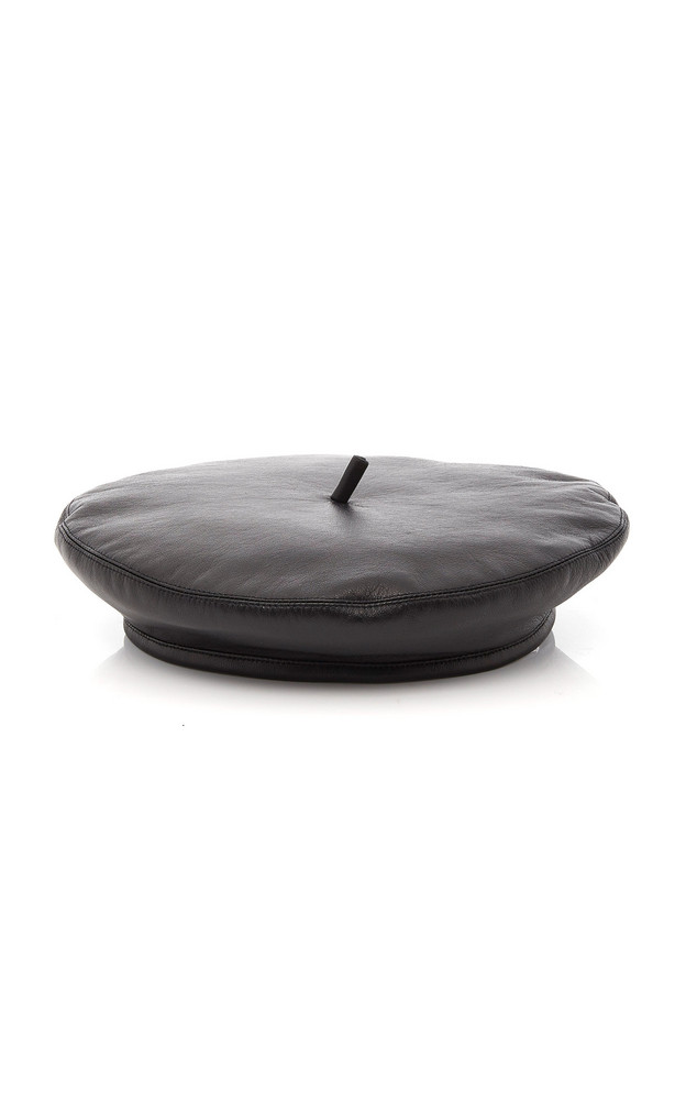 Eugenia Kim The Carter Leather Beret in black