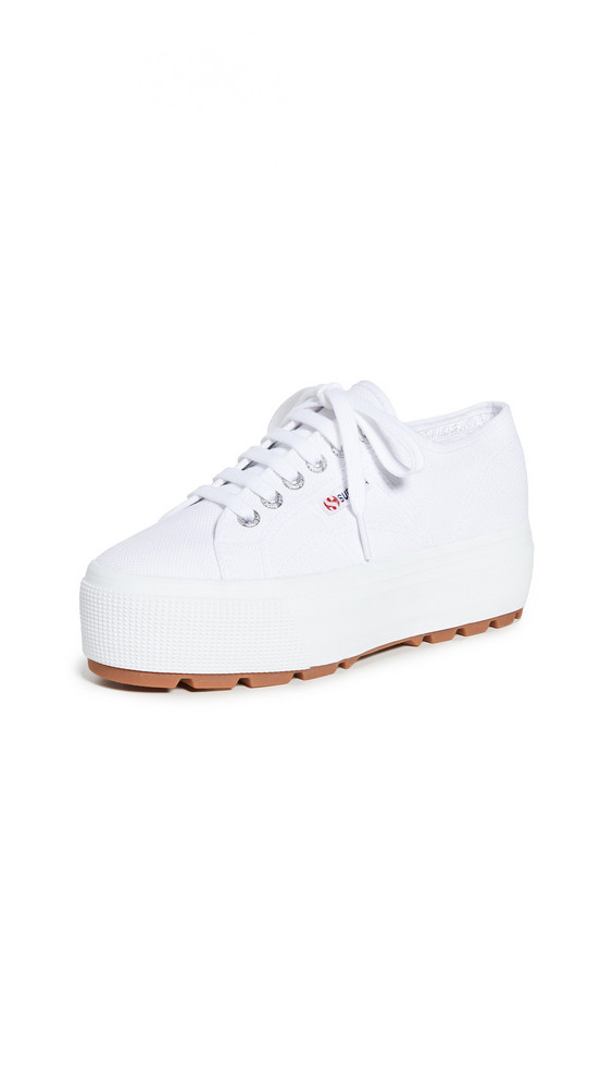 Superga 2790 Tank Sneakers in white