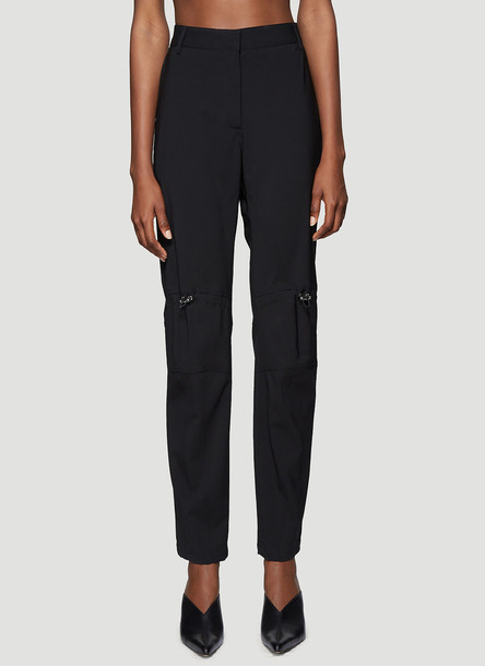 1017 ALYX 9SM Drawstring Pants in Black size IT - 44