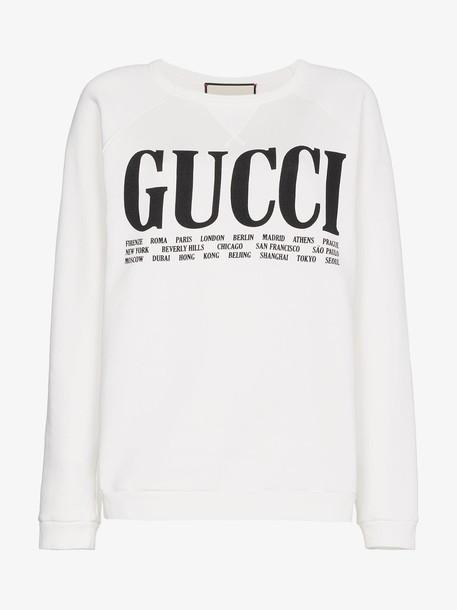 Gucci Gucci Cities print sweatshirt