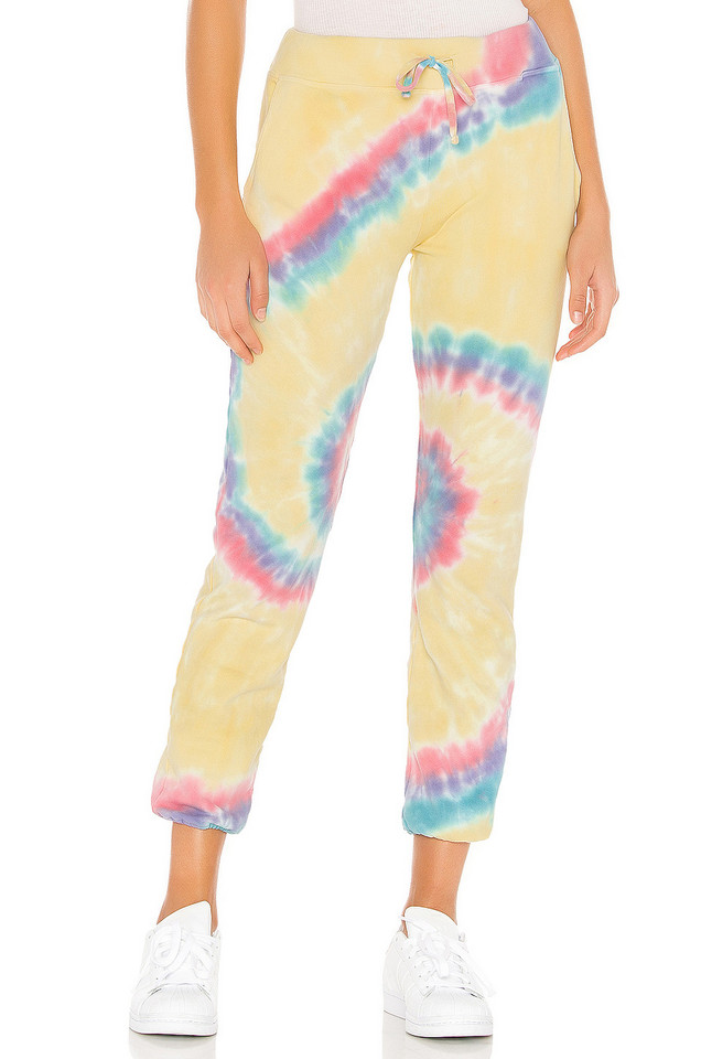 DAYDREAMER X REVOLVE Tie Dye Pant in yellow