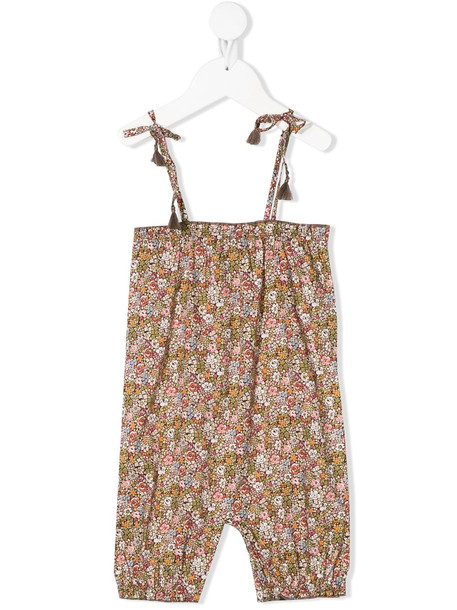THE NEW SOCIETY Emma floral-print cotton romper - Green