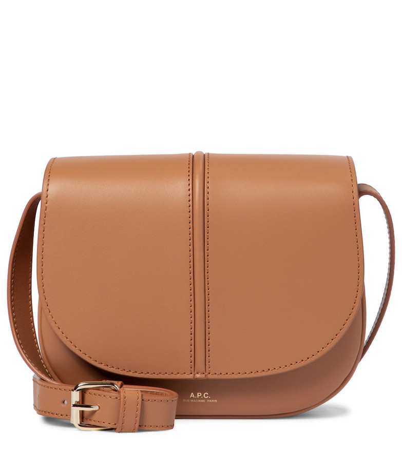 A.P.C. Exclusive to Mytheresa – Betty leather crossbody bag in brown