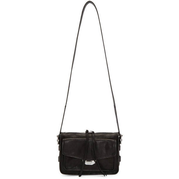 rag and bone rag & bone Black Small Field Messenger Bag