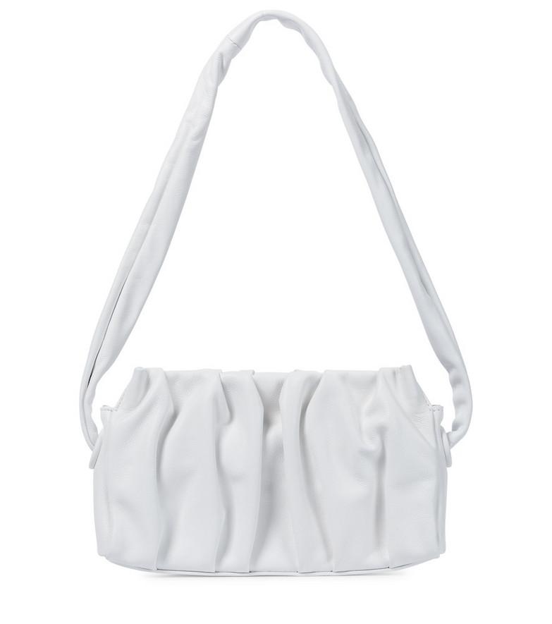 Elleme Vague leather shoulder bag in white