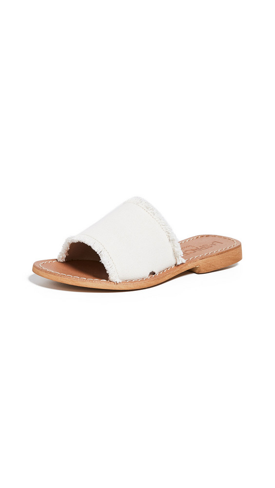 Cocobelle x L*Space Sunday Slides in ivory