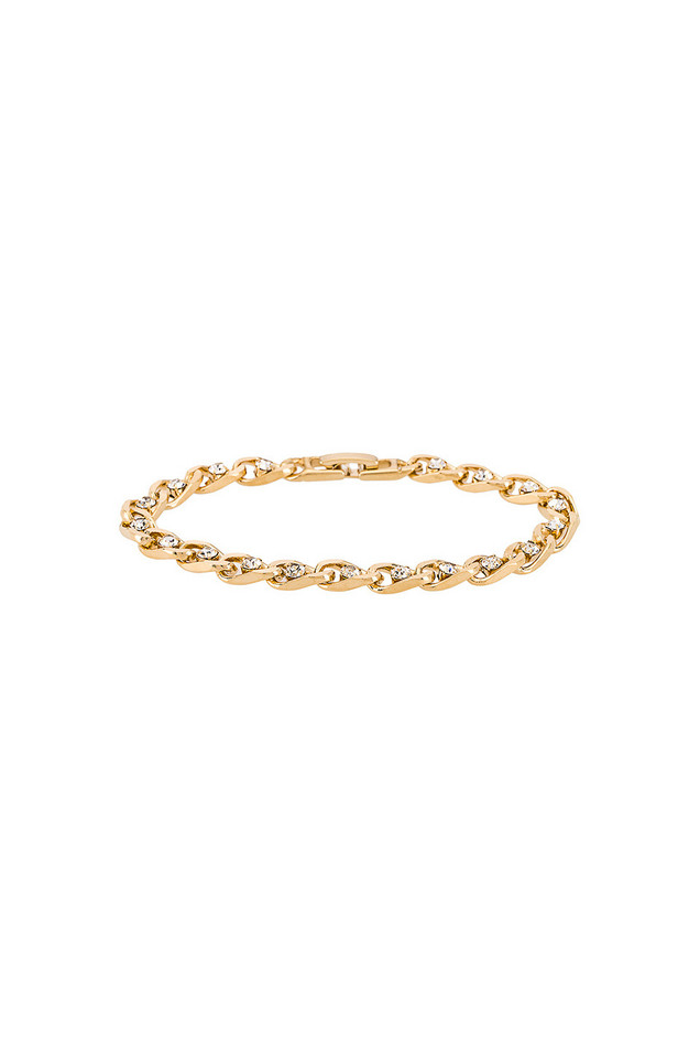 Vanessa Mooney The Messiah Bracelet in gold / metallic