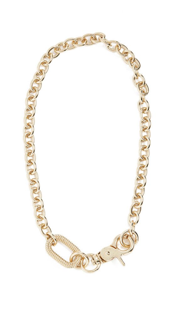 Luv Aj The Isla Statement Necklace in gold