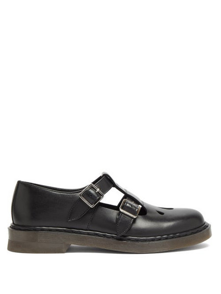 A.P.C. A.P.C. - Double-strap Mary Jane Flats - Womens - Black