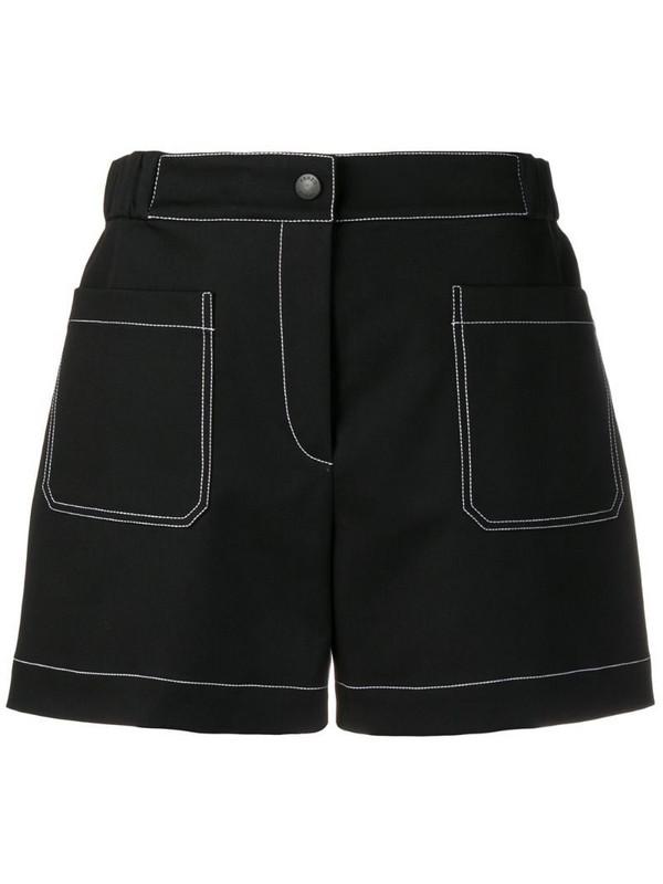 Kenzo high-waisted shorts in black