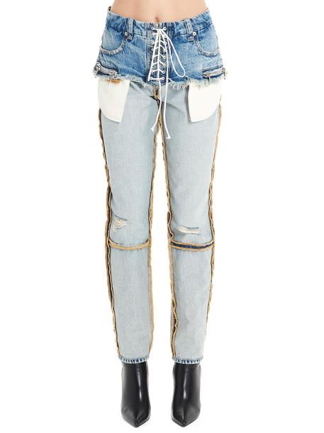 Ben Taverniti Unravel Project Jeans in blue
