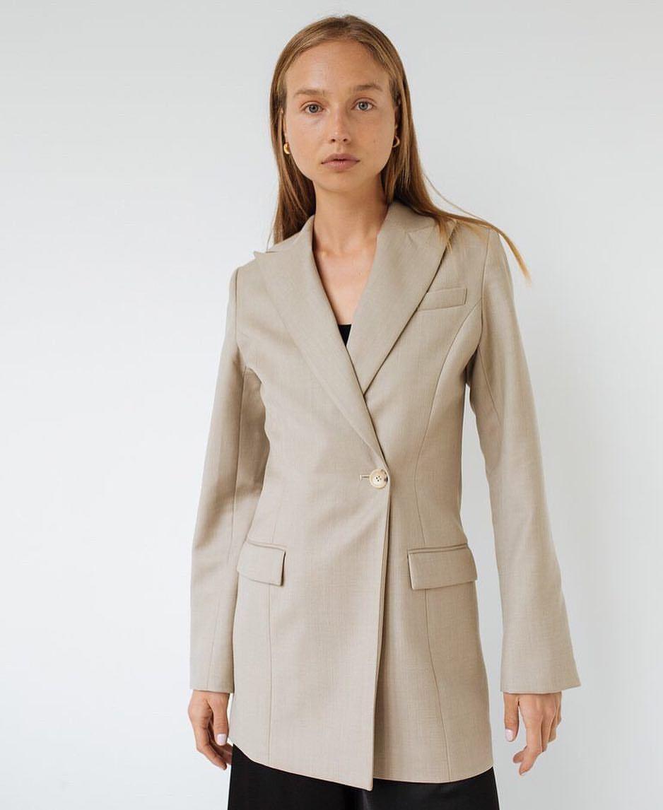jacket beige jacket