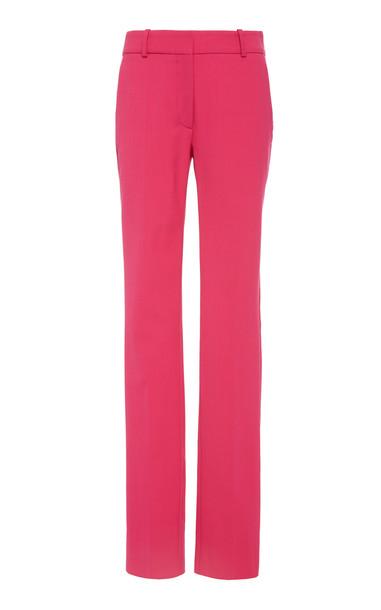 Victoria Beckham Stretch Wool-Blend Slim-Leg Pants Size: 8