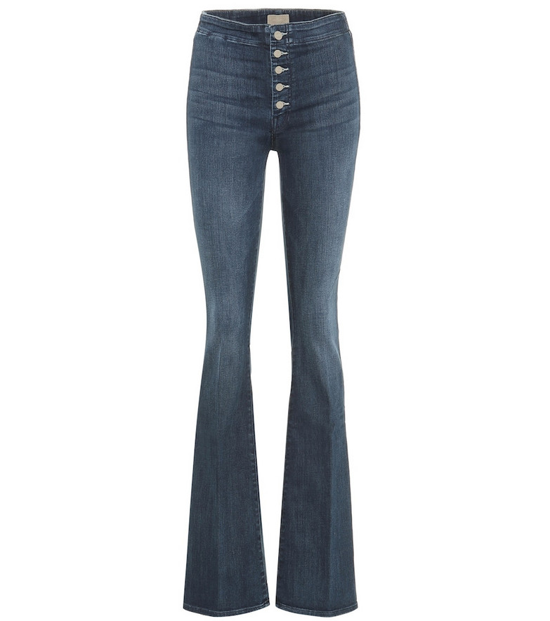 Mother The Hollywood Pixie Cruiser flared jeans in blue