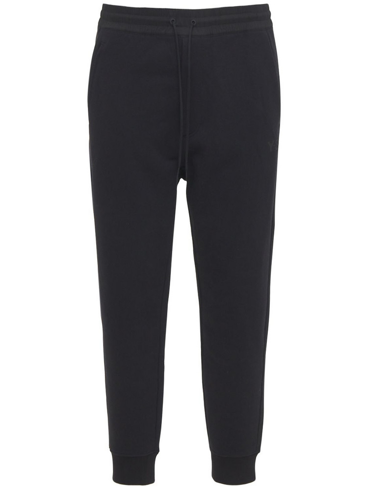 Y-3 Classic Cotton Terry Sweatpants in black