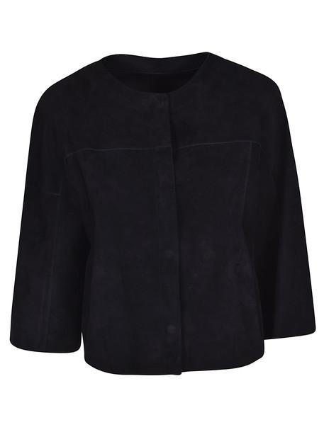 Drome Cropped Jacket in black