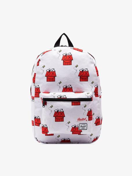 Herschel Supply Co. Herschel Supply Co. white Snoopy Skate Backpack