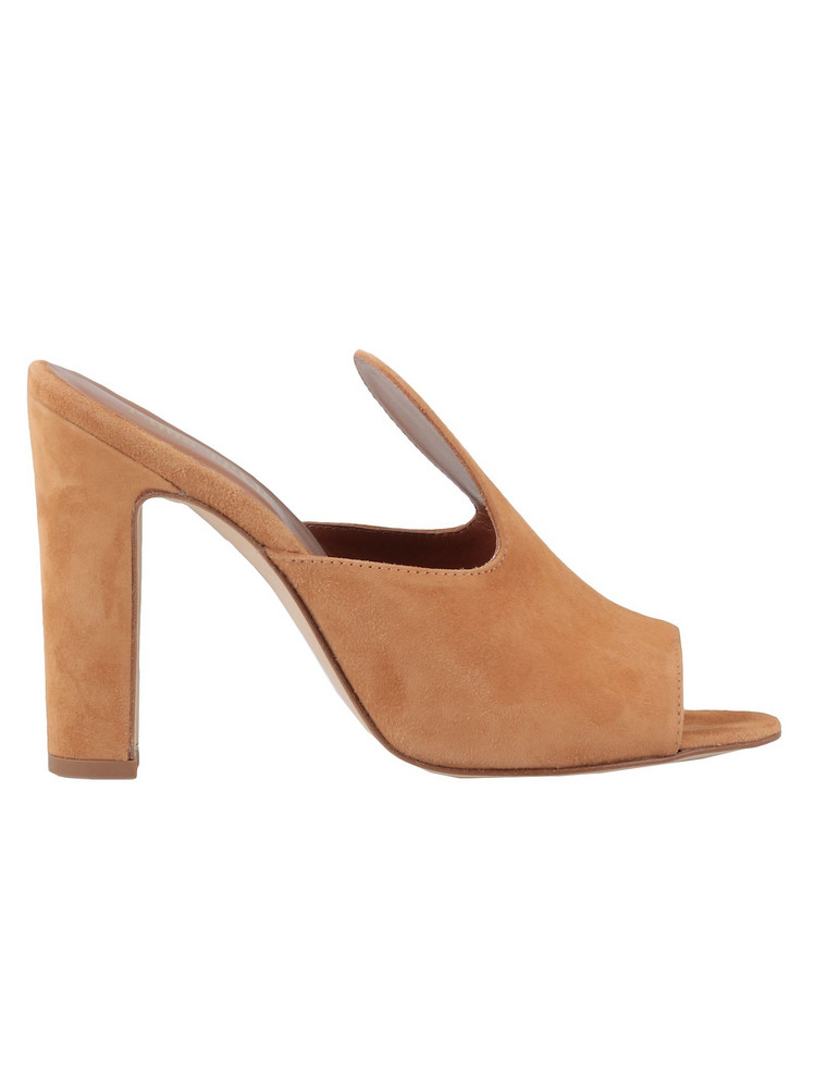 Paris Texas Leather Sandal in tan